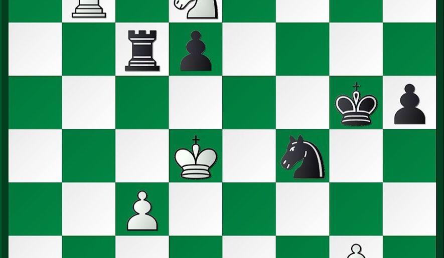 Caruana-Izoria after 66...Ng6-f4.