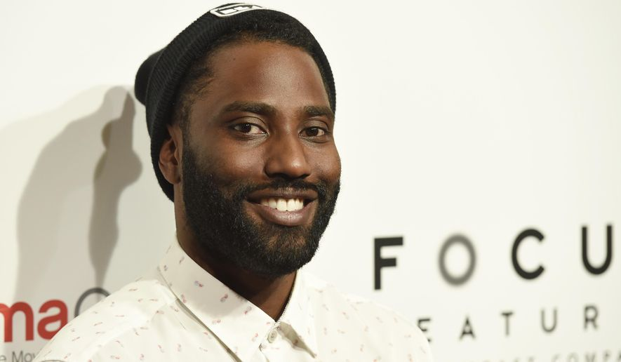 "John David Washington, a cast member in the upcoming film ""BlacKkKlansman,"" poses before the Focus Features presentation at CinemaCon 2018, the official convention of the National Association of Theatre Owners, at Caesars Palace on Wednesday, April 25, 2018, in Las Vegas. (Photo by Chris Pizzello/Invision/AP)"
