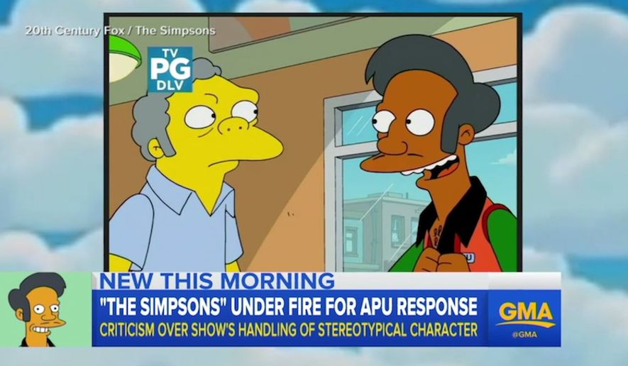 """Voice actor Hank Azaria said it may be time to """"step aside"""" from """"The Simpsons"""" in response to critics of the character Apu. (Image: ABC, GMA screenshot) ** FILE **"""