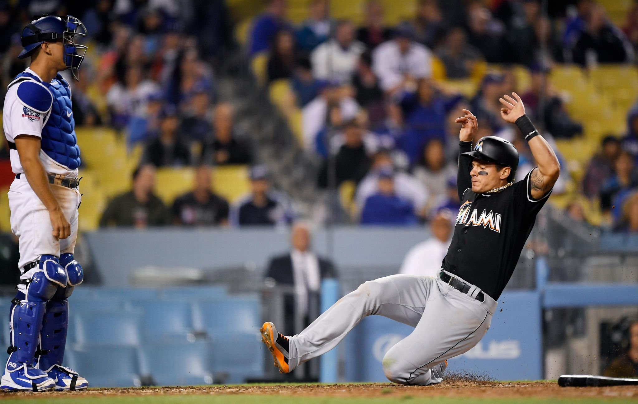 Marlins edge Dodgers 3-2 on Maybin's RBI in 9th, stop skid - Washington Times