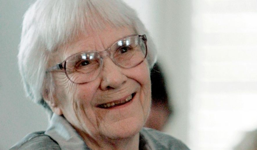 "FILE - In this Aug. 20, 2007, file photo, author Harper Lee smiles during a ceremony honoring the four new members of the Alabama Academy of Honor at the Capitol in Montgomery, Ala. A lawyer for the estate of Lee is trying to halt a lawsuit filed by a producer who plans to stage a Broadway production of the writer's classic ""To Kill a Mockingbird."" Court records show Lee attorney Tonja Carter asked a federal court in Alabama on Tuesday, April 24, 2018, to block a federal lawsuit filed last week in New York by producer Scott Rudin's company, Rudinplay.  (AP Photo/Rob Carr, File)"