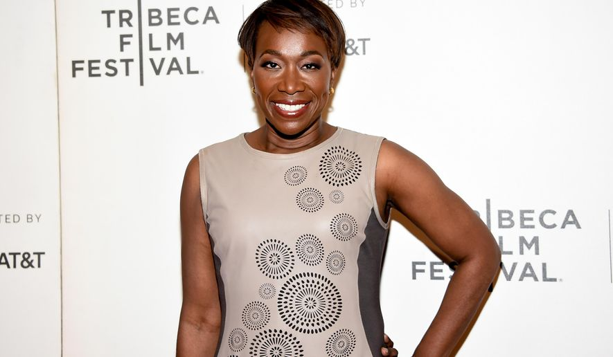 "FILE - In this April 20, 2018 file photo, Joy Reid attends the Tribeca TV screening of ""Rest in Power: The Trayvon Martin Story"" during the 2018 Tribeca Film Festival in New York.  Reid insists that homophobic language in one of her old blog posts is the work of a computer hacker and her security expert said Wednesday they have a strong suspicion of who did it. (Photo by Evan Agostini/Invision/AP, File)"