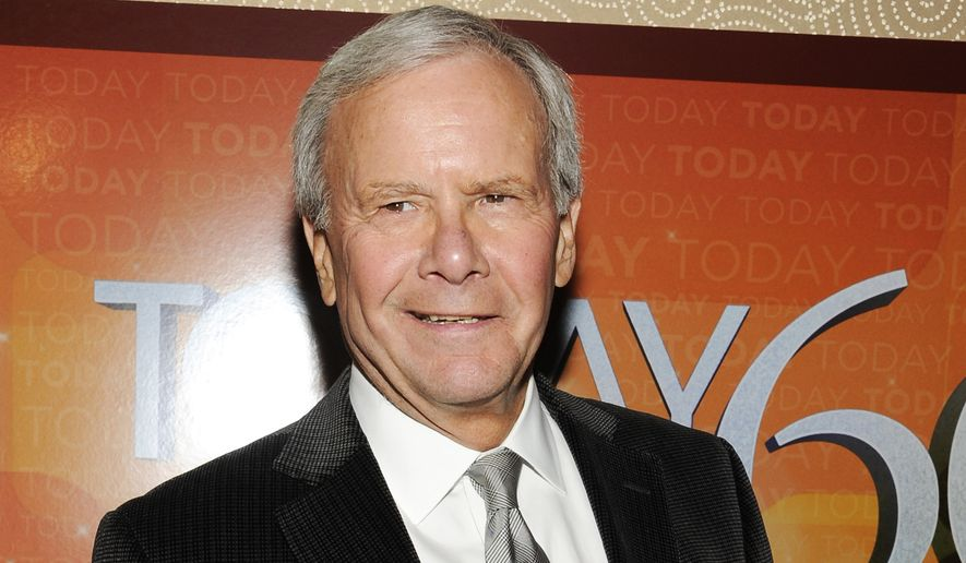 "This Jan. 12, 2012, file photo shows NBC News special correspondent and former ""Today"" show host Tom Brokaw, attending the ""Today"" show 60th anniversary celebration at the Edison Ballroom, in New York.  NBC  is dedicating its new broadcast facility in Universal City, California, as the ""Brokaw News Center."" It will host the West Coast operations of NBC, CNBC, MSNBC, Telemundo and local Los Angeles news programs. (AP Photo/Evan Agostini, File)"
