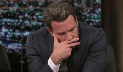 """Actor Ben Affleck appears on """"Real Time with Bill Maher"""" during an October 2014 taping of the HBO show. (Image: YouTube, 'Real Time with Bill Maher' screenshot) ** FILE **"""