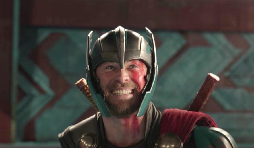 "Actor Chris Hemsworth stars in Marvel Studios' 2017 movie ""Thor Ragnarok,"" directed by  Taika Waititi. (Image: YouTube, Marvel Entertainment, teaser trailer screenshot)"