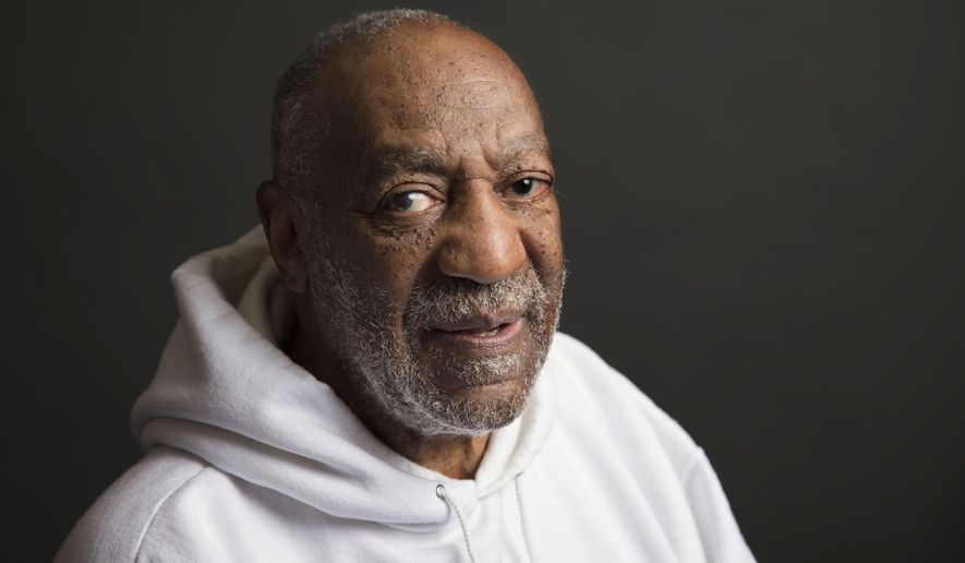 FILE - In this Nov. 18, 2013 file photo, actor-comedian Bill Cosby poses for a portrait in New York. On Thursday, April 26, 2018, Cosby was convicted of drugging and molesting a woman in the first big celebrity trial of the #MeToo era, completing the spectacular late-life downfall of a comedian who broke racial barriers in Hollywood on his way to TV superstardom as America's Dad. (Photo by Victoria Will/Invision/AP, File)