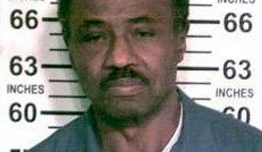 FILE - This Oct. 10, 2017 file photo provided by the New York State Department of Corrections and Community Supervision shows inmate Herman Bell, at the Shawangunk Correctional Facility in Shawangunk, N.Y. Bell, 70, a former radical who killed two New York City police officers nearly a half century ago, is scheduled to be released on parole Friday, April 27, 2018, after efforts to keep him in prison failed. (New York State Department of Corrections and Community Supervision via AP, File)