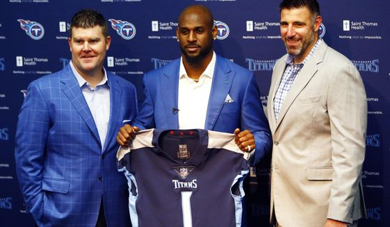 Titans choose quality over quantity with 4 draft picks - Washington Times 892a9509f