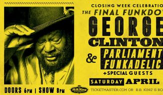 Promotional poster for a George Clinton and Parliament Funkadelic concert, via the group's official Facebook page. The P-Funk legend announced he will stop touring in 2019. (Facebook/George Clinton and Parliament Funkadelic)