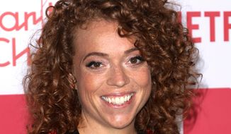Michelle Wolf arrives at the sixth annual Hilarity For Charity Los Angeles Variety Show at the Hollywood Palladium in Los Angeles on March 24, 2018. (Willy Sanjuan/Invision/AP) **FILE**