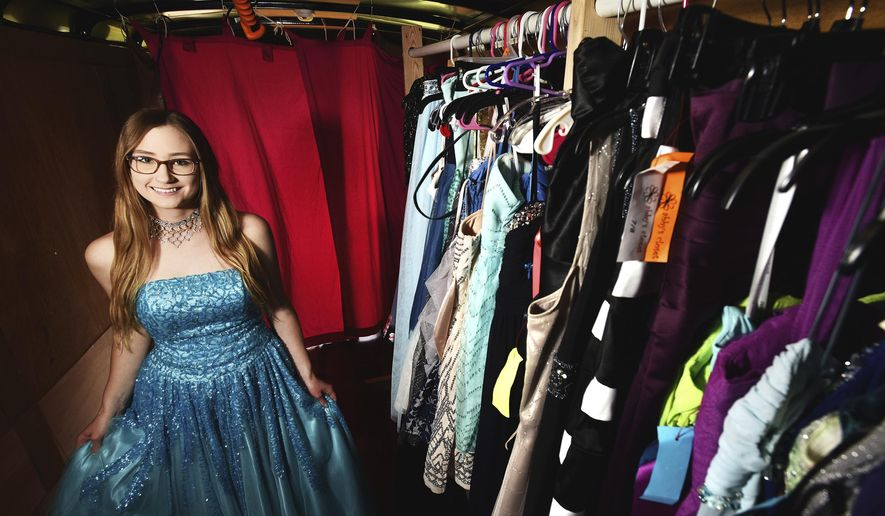Athena Girl Spreads The Love With 100 Dress Donations Washington