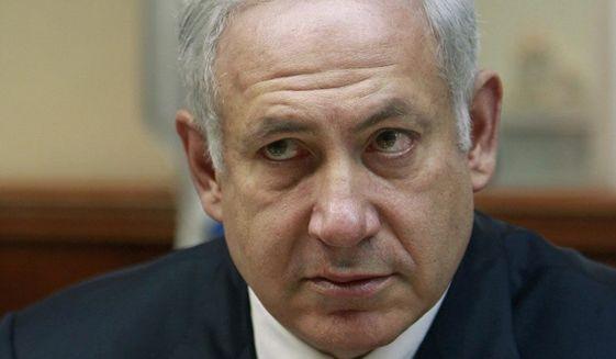 Israeli Prime Minister Benjamin Netanyahu. (Associated Press)