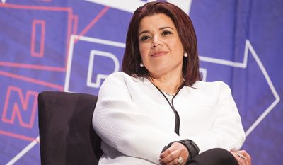 Ana Navarro attends Politicon at The Pasadena Convention Center on Sunday, Aug. 30, 2017, in Pasadena, Calif. (Photo by Colin Young-Wolff/Invision/AP)