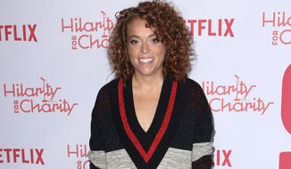 Michelle Wolf arrives at the 6th Annual Hilarity For Charity Los Angeles Variety Show at the Hollywood Palladium on Saturday, March 24, 2018, in Los Angeles. (Photo by Willy Sanjuan/Invision/AP)