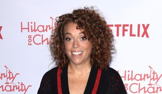 In this March 24, 2018, file photo, Michelle Wolf arrives at the 6th Annual Hilarity For Charity Los Angeles Variety Show in Los Angeles. (Photo by Willy Sanjuan/Invision/AP, File)