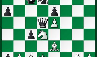 Caruana-Akobian after 25...Qc6-d5.