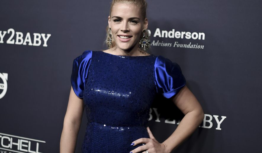 "FILE - In this Nov. 11, 2017 file photo, Busy Philipps attends the 6th Annual Baby2Baby Gala honoring Gwyneth Paltrow in Culver City, Calif. The actress is getting her own late-night talk show on E! called ""Busy Tonight."" Production is set to begin this summer. (Photo by Richard Shotwell/Invision/AP, File)"