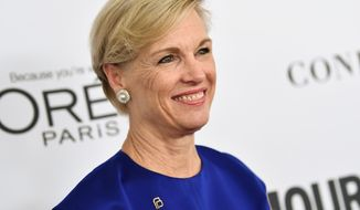 FILE - In this Nov. 13, 2017 file photo, Cecile Richards attends the 2017 Glamour Women of the Year Awards in New York. Richards steps down Tuesday from the helm of Planned Parenthood, a position she has held for 12 years, and her parting message to fellow women is: Get involved, and don't wait. (Photo by Evan Agostini/Invision/AP, File)