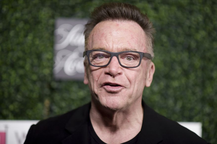 """Tom Arnold attends """"An Unforgettable Evening"""" at the Beverly Wilshire Hotel on Thursday, Feb. 16, 2017, in Beverly Hills, Calif. (Photo by Richard Shotwell/Invision/AP)"""
