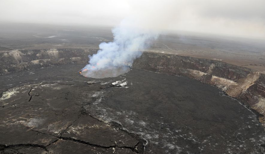 kilauea volcano eruption feared after hawaii earthquakes