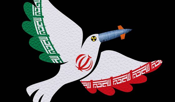 Iranian Duplicity Illustration by Greg Groesch/The Washington Times
