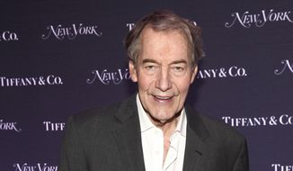 In this Oct. 24, 2017, file photo, Charlie Rose attends New York Magazine's 50th Anniversary Celebration at Katz's Delicatessen in New York. (Photo by Andy Kropa/Invision/AP, File)