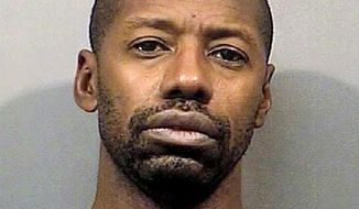 FILE - This photo provided by the Lake County, Ind., Sheriff's Department shows Darren Vann, of Gary, Ind. On Friday, May 4, 2018, Vann entered guilty pleas for the deaths of seven women, avoiding the death penalty and instead receiving life in prison without parole. He is to be sentenced May 25. (Lake County Sheriff's Department via AP, File)