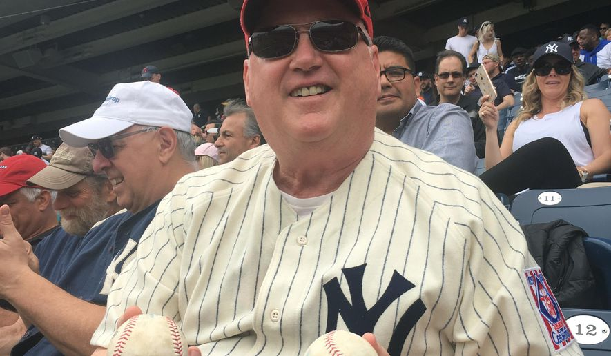 College Hoops Coach Catches 2 Foul Balls At Yankee Stadium