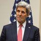 Former Secretary of State John Kerry. (Associated Press) ** FILE **