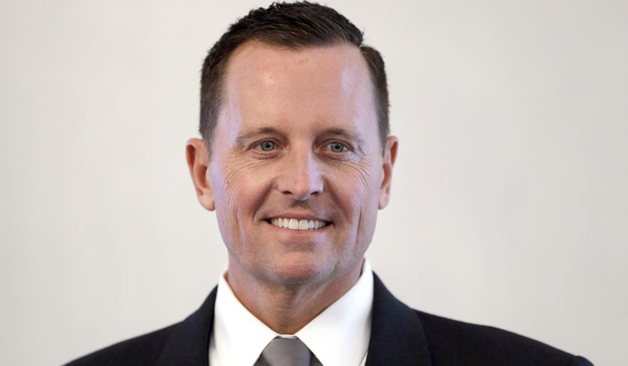 U.S. Ambassador to Germany Richard Allen Grenell. (Associated Press)