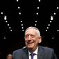 """They continue their malign activities across the region"" said Defense Secretary James N. Mattis during a Senate hearing on Wednesday about Iran. (Associated Press)"