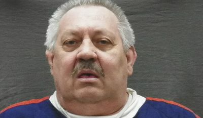 In this March 6, 2017 photo released by the Michigan Department of Corrections, Arthur Ream is shown. Police are digging in woods northeast of Detroit near where the body of a 13-year-old girl who went missing in 1986 was found more than a decade ago. In 2008, Ream led police to the area and the remains of Cindy Zarzycki who disappeared. Zarzycki had been dating Ream's son at the time of her disappearance. Arthur Ream was convicted of her murder and is serving life in prison. (Michigan Department of Corrections via AP)