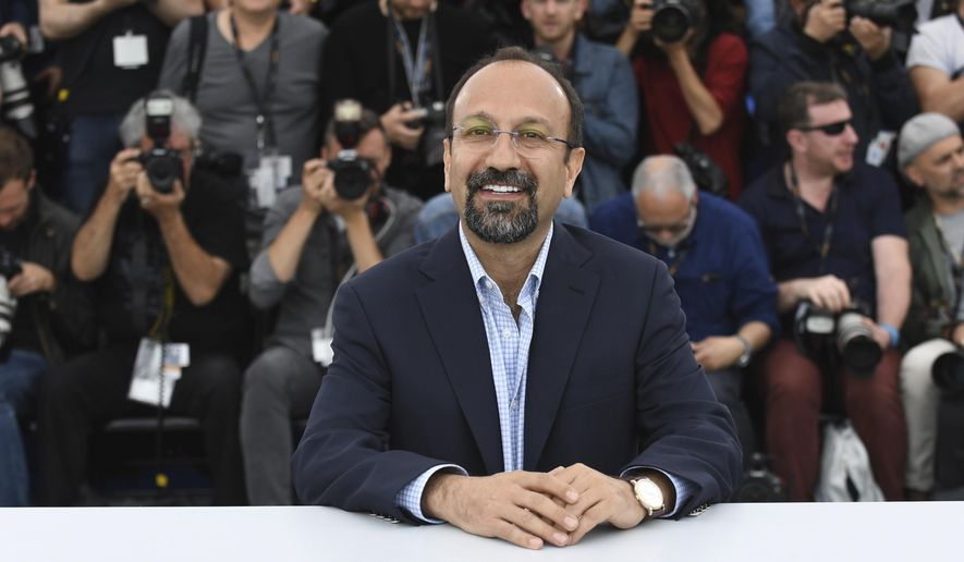 Director Asghar Farhadi poses for photographers during a photo call for the film 'Everybody Knows' at the 71st international film festival, Cannes, southern France, Wednesday, May 9, 2018. (Photo by Arthur Mola/Invision/AP)