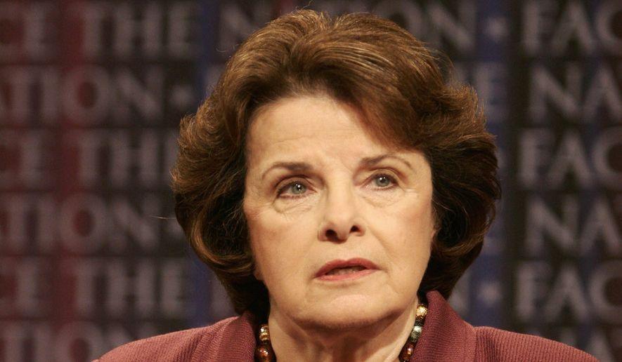 Sen. Dianne Feinstein. (Associated Press) ** FILE **