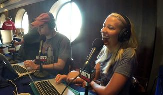 Ben Shapiro and Elisha Krauss on Salem Radio's KRLA.