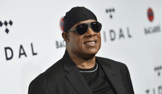 In this Oct. 17, 2017, file photo, Stevie Wonder attends the TIDAL X: Brooklyn 3rd Annual Benefit Concert in New York. (Photo by Evan Agostini/Invision/AP, File)