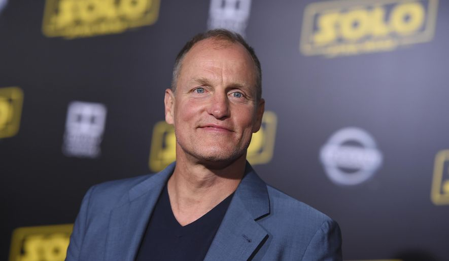 """Woody Harrelson arrives at the premiere of """"Solo: A Star Wars Story"""" at El Capitan Theatre on Thursday, May 10, 2018, in Los Angeles. (Photo by Jordan Strauss/Invision/AP)"""
