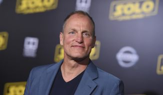 "Woody Harrelson arrives at the premiere of ""Solo: A Star Wars Story"" at El Capitan Theatre on Thursday, May 10, 2018, in Los Angeles. (Photo by Jordan Strauss/Invision/AP)"