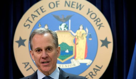 New York Attorney General Eric Schneiderman resigned from his position hours after he was accused of sexual misconduct. Now there's evidence in a court letter too. (ASSOCIATED PRESS)
