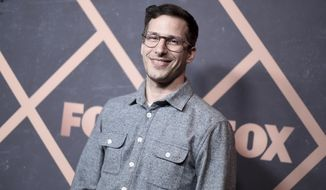 Andy Samberg attends the 2017 Fox Fall Party at Catch LA on Monday, Sept. 25, 2017, in West Hollywood, Calif. (Photo by Richard Shotwell/Invision/AP)