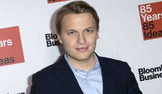 In a Dec. 4, 2014, file photo, Ronan Farrow attends Bloomberg Businessweek's 85th Anniversary celebration at the American Museum of Natural History, in New York. (Photo by Stephen Chernin/Invision/AP, File)