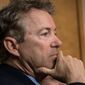 "Sen. Rand Paul, Kentucky Republican, said he disagrees with a 2015 ruling by Supreme Court nominee Brett M. Kavanaugh that the federal government's metadata collection was ""entirely consistent"" with the Fourth Amendment's protection against unreasonable searches. (Associated Press/File)"
