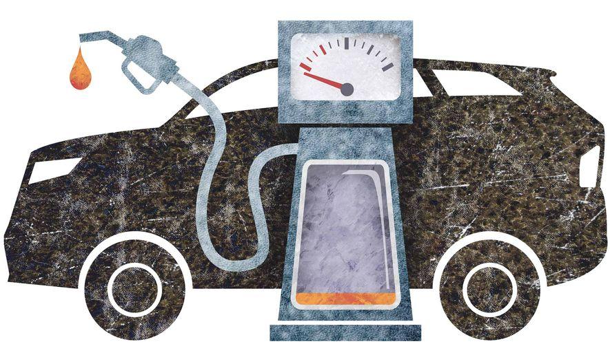 Gas-Guzzling SUVs Illustration by Greg Groesch/The Washington Times