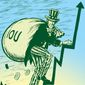 Illustration on rising national debt by M.Ryder/Tribune Content Agency