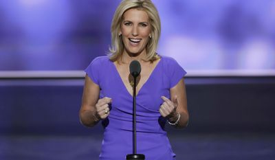 Fox News prime-time host Laura Ingraham (Associated Press) **FILE**