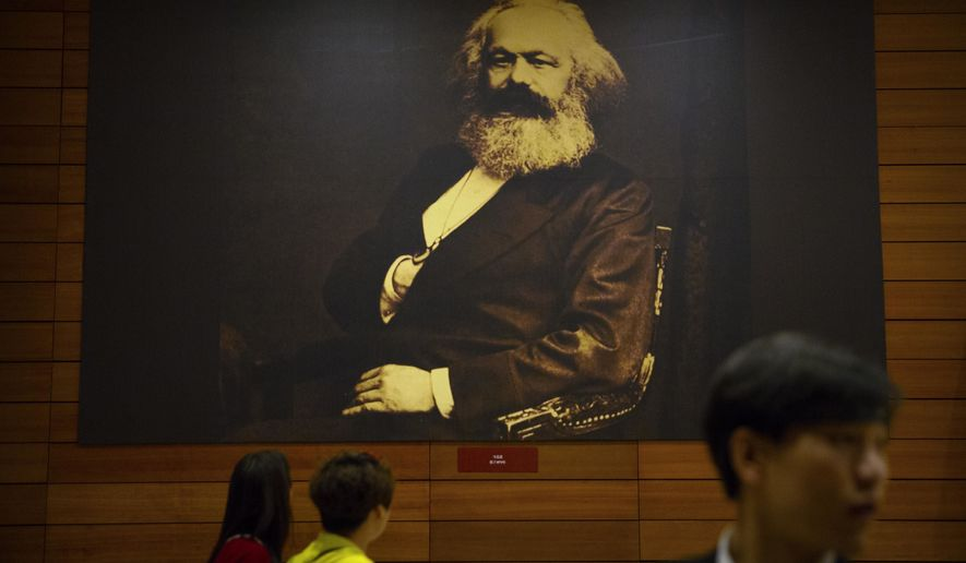 The bicentennial of Karl Marx's birth has coincided with a groundswell of support for the communist theorist's ideas.  (Associated Press)
