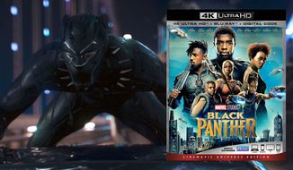 "Chadwick Boseman stars in ""Black Panther,"" now available on 4K Ultra HD from Walt Disney Studios Home Entertainment."