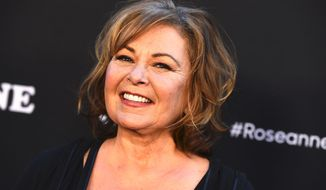"""Roseanne Barr tweeted that """"Next season will be even braver/funnier/timely than this season, despite what anyone mistakenly says."""" (ASSOCIATED PRESS)"""