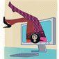 Illustration on feminists'euphemistic treatment of prostitution by Linas Garsys/The Washington Times