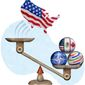 Bad Trade Deals Illustration by Greg Groesch/The Washington Times